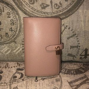 Price is NOT Firm-Michael Kors ADELE Bifold Wallet